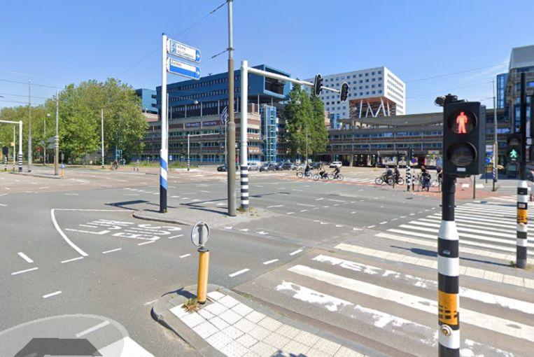 Kruising van de Amstelveenseweg en De Boelelaan. Beeld Google Streetview