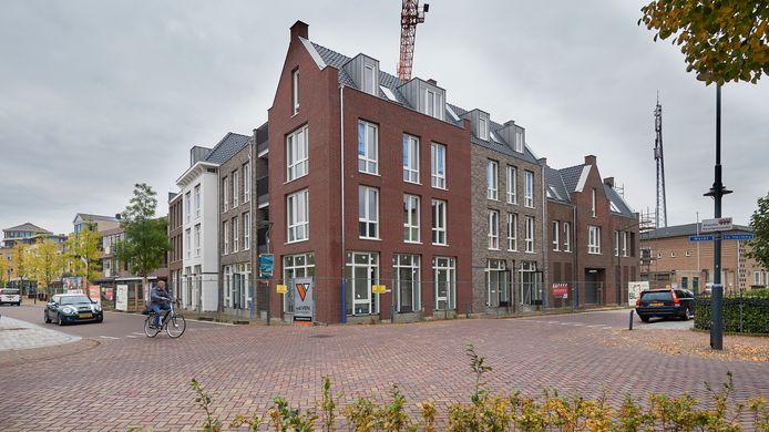 Het nieuwe complex 'Aan de Markt' in Veghel.
