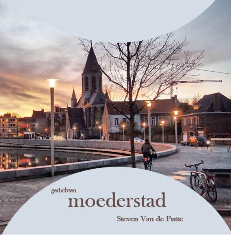 De cover van Stevens dichtbundel, een foto van Martin De Baerdemaeker.