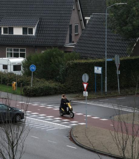 Geen 30km-zone, wel een bord bij belangrijke weg in Westervoort