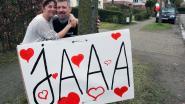 Groots huwelijksaanzoek gaat compleet de mist in, maar eindigt gelukkig toch met 'ja'