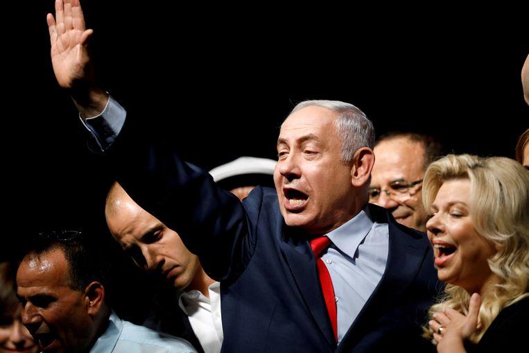 De Israëlische premier Benjamin Netanyahu Beeld REUTERS