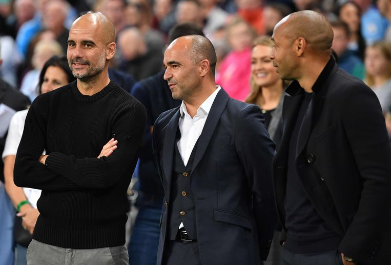 Guardiola, Martinez en Thierry Henry