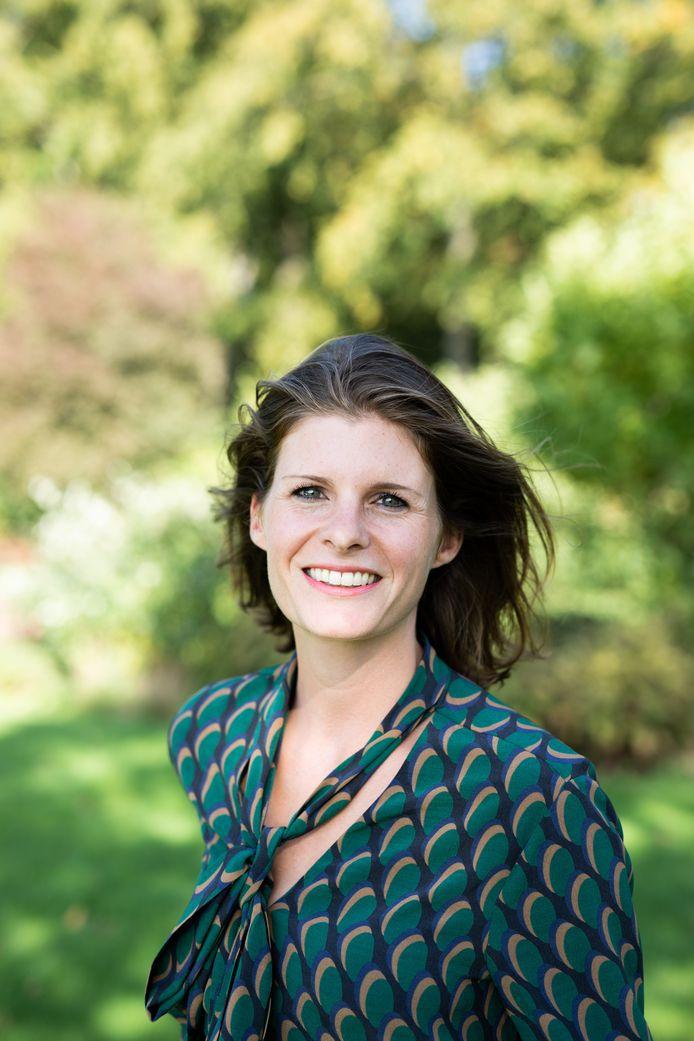 Jolanda van Gerwe van de stichting Join us