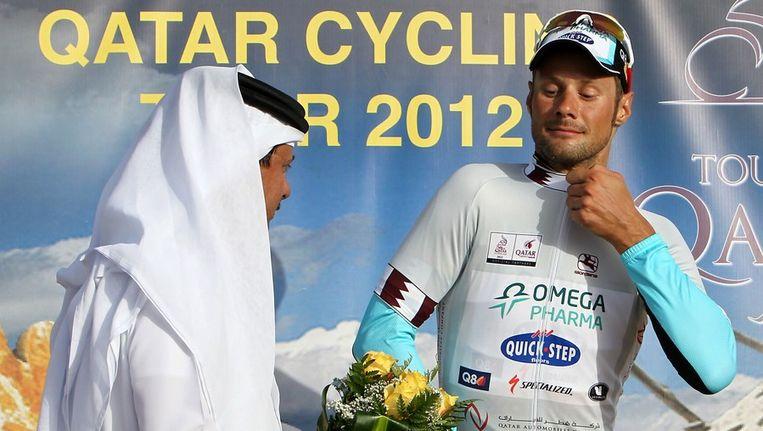Boonen was vorige week nog de grote man in Qatar.