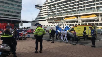 Alarm op cruiseschip opgeheven na ziekte-uitbraak, schip vertrok vanochtend in Zeebrugge