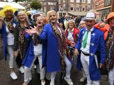 Mee zingen met het Nederlandse lied, dansend en springend