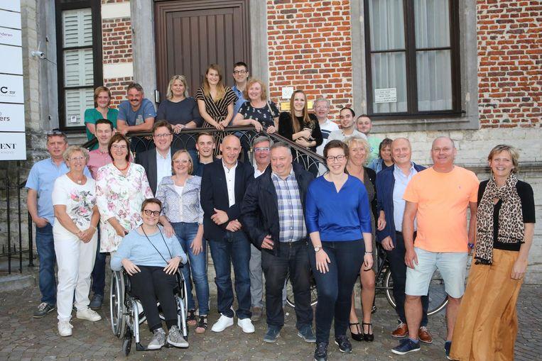 De CD&V-ploeg van Tienen.