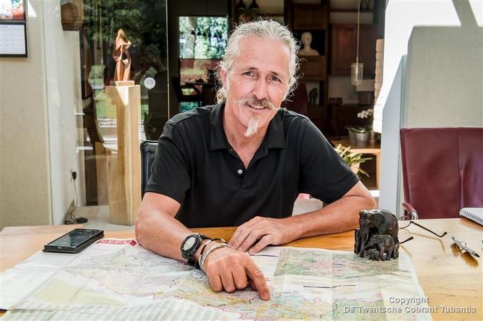 André Renting is even in Rijssen om verslag uit te brengen