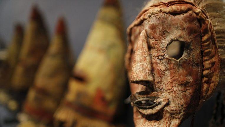 Hopi-masker. Beeld reuters