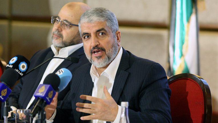 Hamas-leider Khaled Meshaal.