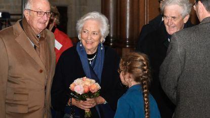 Koningin Paola straalt bij comeback