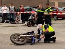 Vrouw in Den Bosch 'vloog wel zes meter door lucht', rijder crossmotor is nog op vlucht