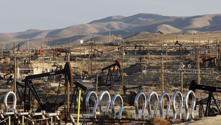 Een olieveld in McKittrick, Californië. Beeld Getty Images