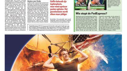Belgisch duel (in tribune) om plaats in halve finale