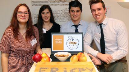 Van eetbare verpakking voor festivalsnacks tot vegan kaas op basis van pompoen: Geelse masterstudenten ontwikkelen nieuwe voedingsmiddelen