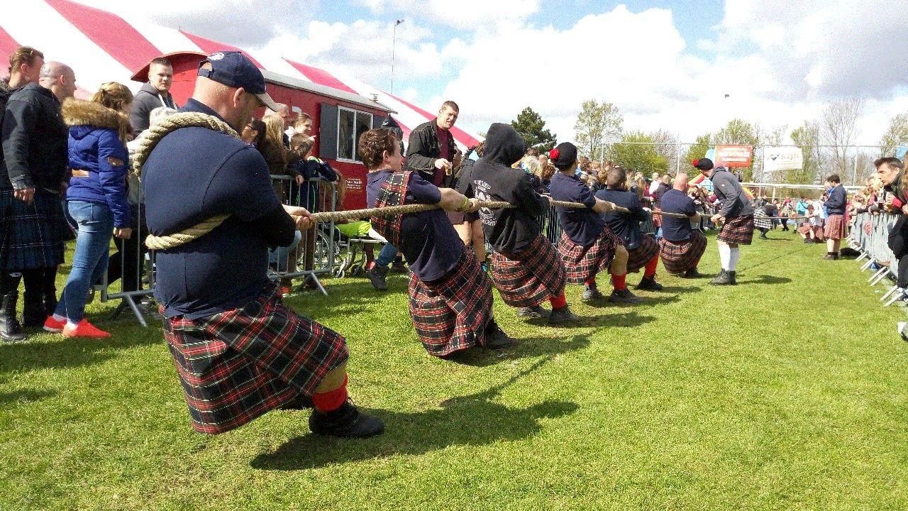 Highland Games Driewegen