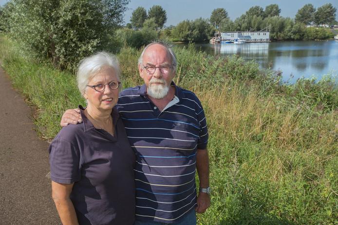 Het echtpaar Eltink aan de Lithse Ham.