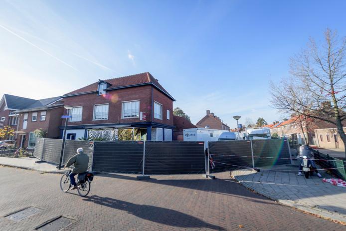De plaats delict in Enschede
