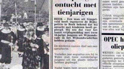 Speurders gaan ook oude misbruikzaak Jos Brech uit 1985 onderzoeken