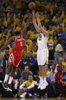 Weg naar NBA-finale ligt weer helemaal open voor Warriors en Rockets