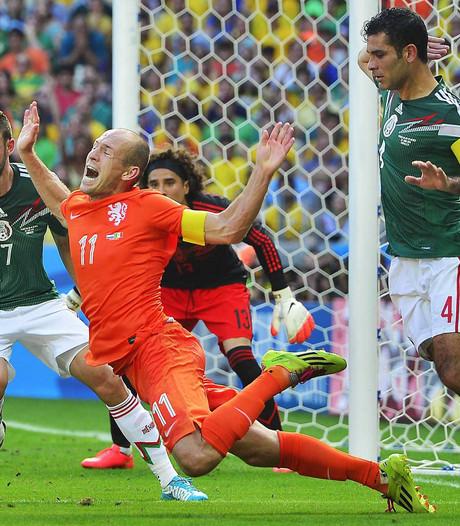 KNVB reageert op 'No era penal'-Mexicaan: Succes vanavond