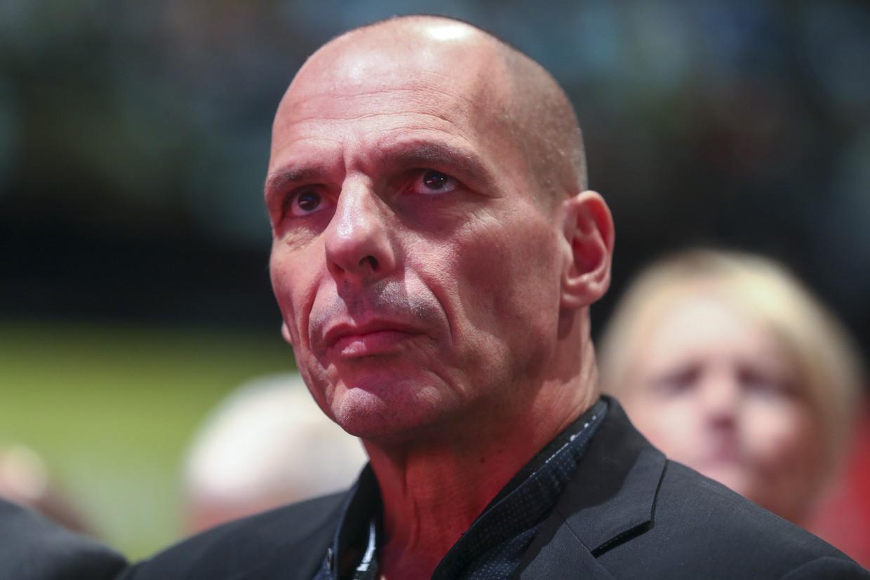 Yanis Varoufakis. Beeld Bloomberg via Getty Images