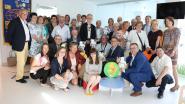 Kiwanis zorgt voor kleurrijke kinderafdeling AZ Alma