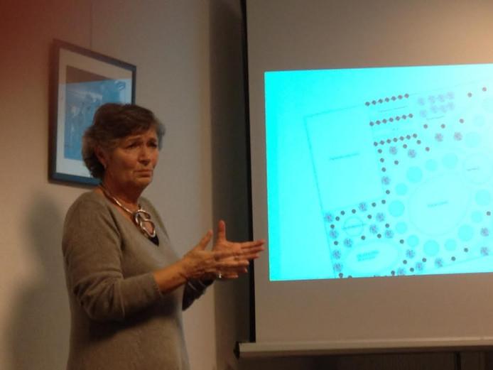 Marion van den Waardenberg geeft uitleg over haar plan