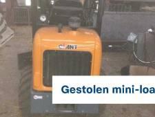 Graafmachine gestolen bij inbraak in Velp