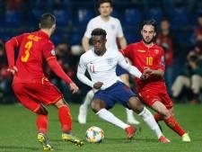Racistische geluiden richting Engelse spelers in Montenegro