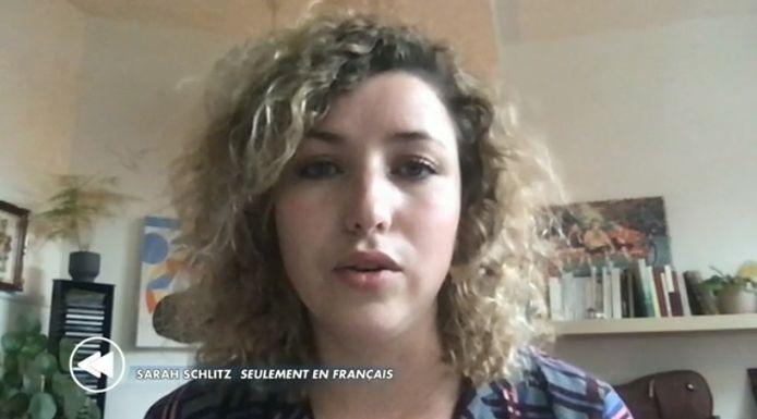 """Sarah Schlitz dans l'émission dominicale """"C'est pas tous les jours dimanche"""""""