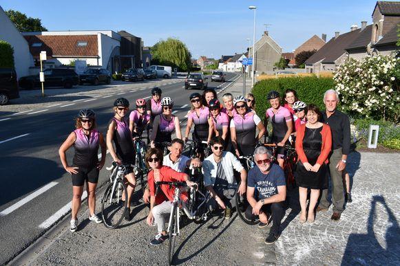 Cycling Team Snelle Missen uit Damme sluit zich aan bij de bezorgdheid van de bewoners.