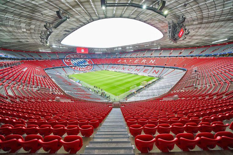 De Allianz Arena van Bayern.