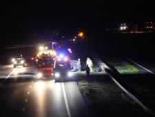 Gewonde bij eenzijdig ongeval op  A1 bij Holten