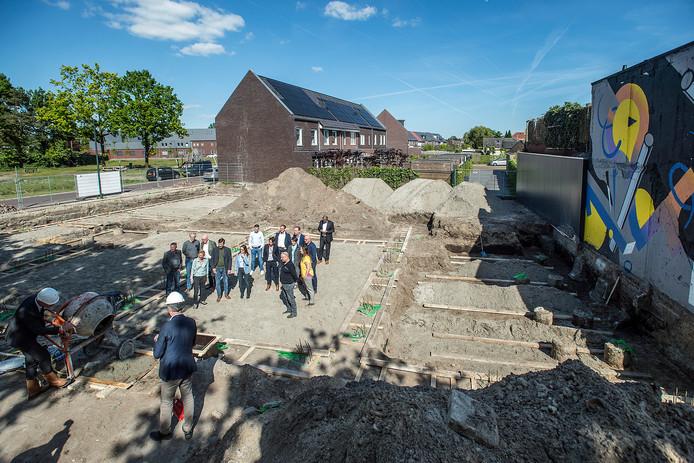 Pix4Profs-Ron Magielse Dit voorjaar is onder meer het startsein gegeven voor de bouw van 17 sociale huurwoningen in de Bredase wijk de Driesprong.