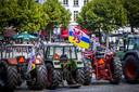 Boeren demonstreerden eerder deze maand op het Vrijthof.