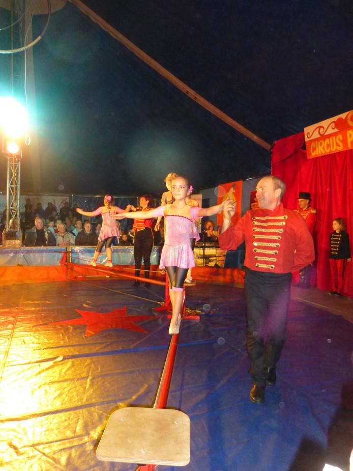Amy Broft danst op het strakke koord bij Pinilotta. In 2015 is ze overleden