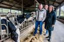 De familie Van Esch is al jaren bezig om op het melkveebedrijf in Heukelom een 'koeientuin' aan te leggen.