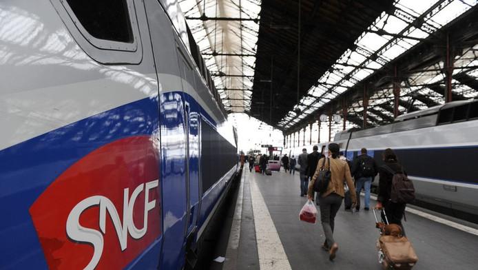 Treinen in Frankrijk.