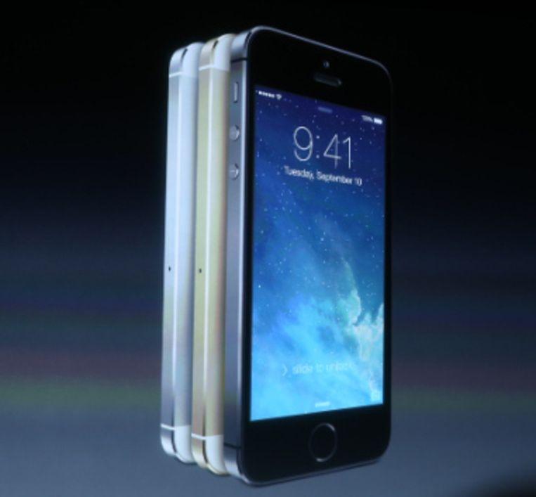 De iPhone 5S. Beeld Apple