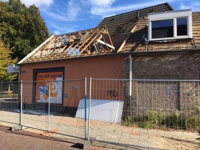 De oude speelgoedwinkel van Van der Doelen.