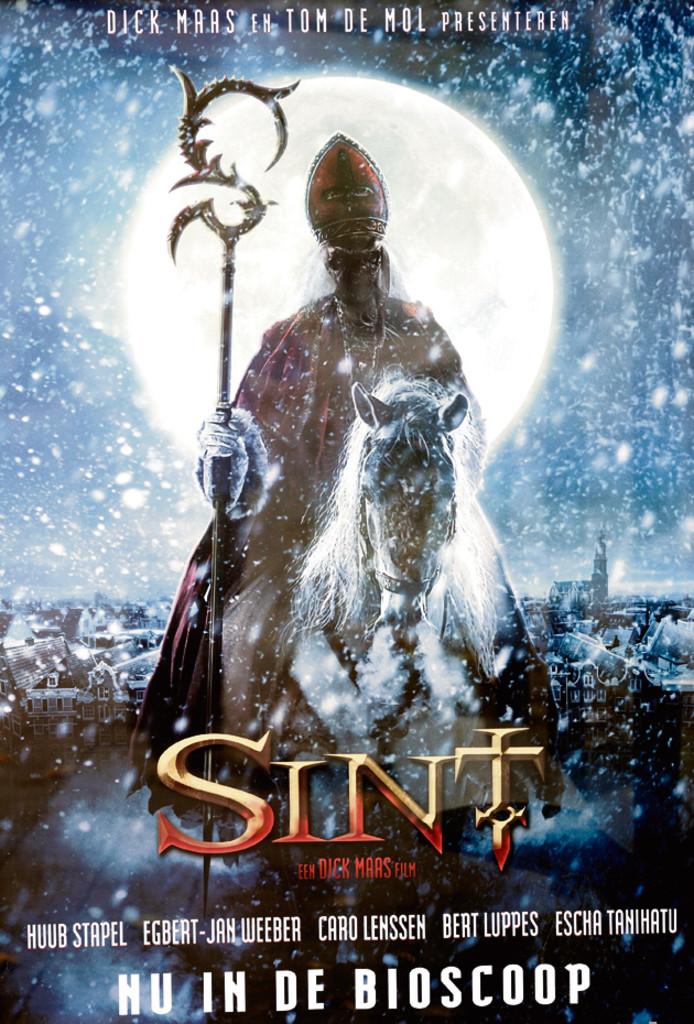 Poster van de bioscoopfilm Sint.