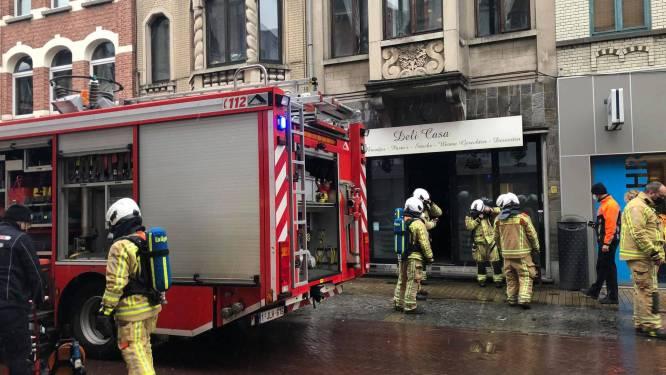 Brand en gaslek in restaurant: Brusselsestraat afgesloten voor verkeer