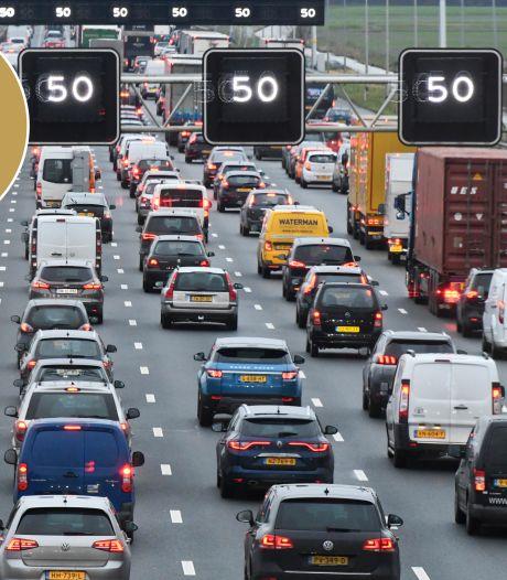 In een schone auto over een filevrije snelweg, is dat haalbaar?