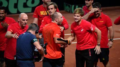 België ontmoet in vernieuwde Davis Cup Brazilië in kwalificaties - Elise Mertens en Ruben Bemelmans kennen succes in dubbel