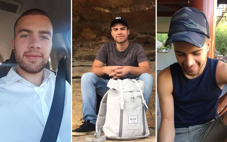 Deze foto's van Dorian werden door familieleden op sociale media verspreid.