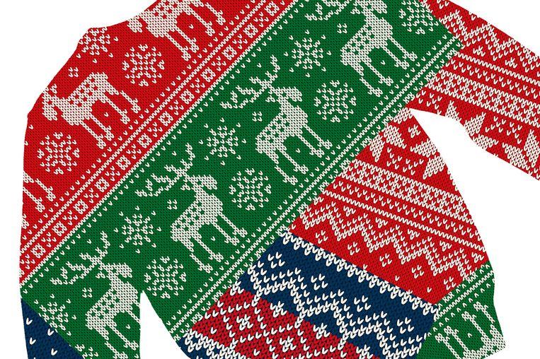 Foute Kersttrui Zelf Maken.Foute Trui Voor Goede Zaak Lelijkekersttruiendag Staat Ook Voor