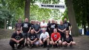 Motorclub The Walkers eert overleden president Eddy tijdens motortreffen