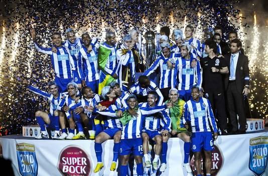 Porto bejubelt de landstitel.